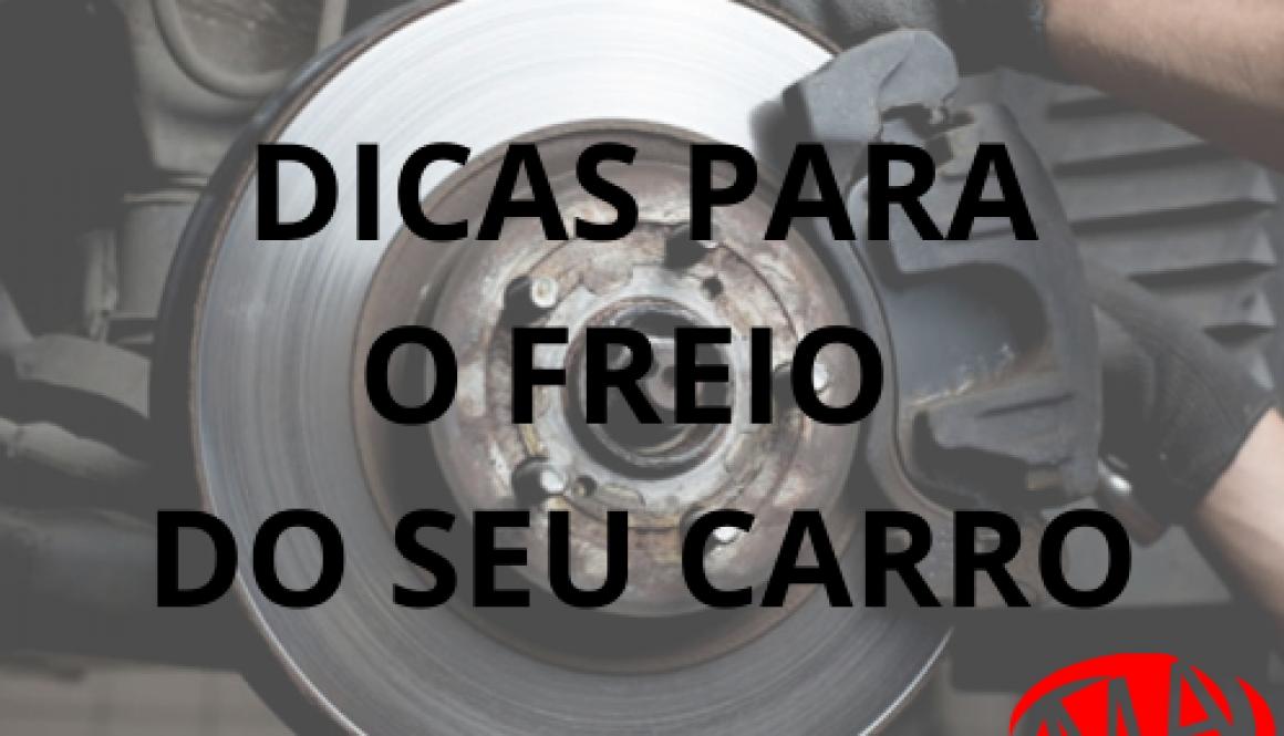 DICAS PARA O FREIO DO SEU CARRO